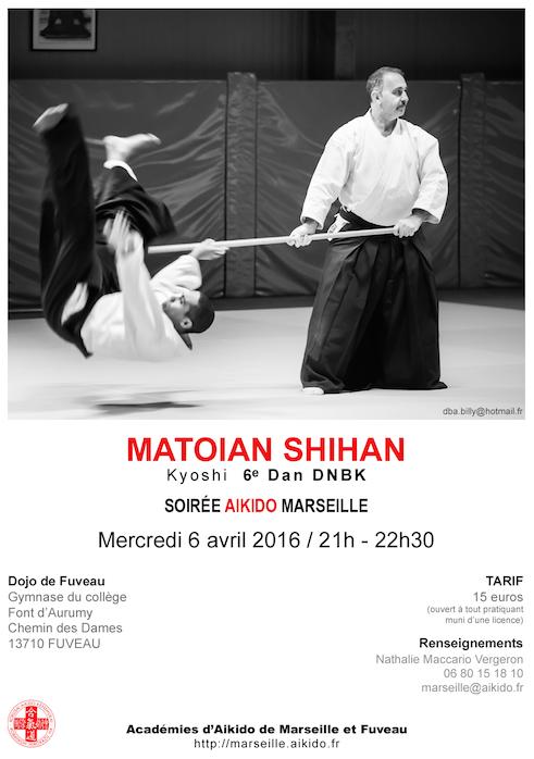 Soirée aïkido Matoian Shihan